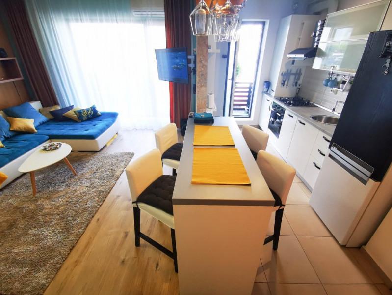 Apartament DEOSEBIT 2 camere si curte proprie de inchiriat Baneasa, Greenfield