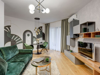Prima inchiriere 3 camere lux Herastrau Parkview - glamour and style